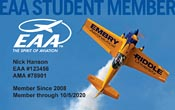 EAA Student Membership registration